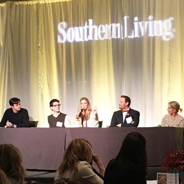 Southern Living Design Summit social media panel