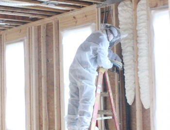 Graber Insealators Installing Foam Insulation