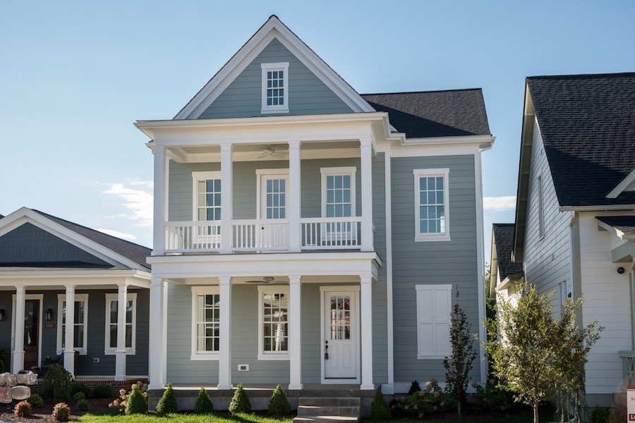 Artisan Signature Homes Hardie Siding Picture